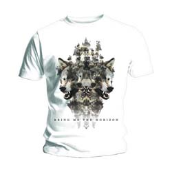 Bring Me The Horizon Men's Tee: Wolven Version 2