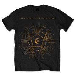 Bring Me The Horizon Men's Tee: Black Star