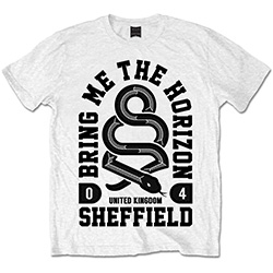 Bring Me The Horizon Men's Tee: Snake