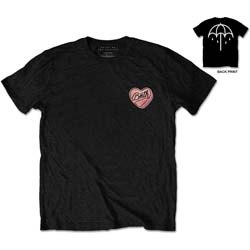 Bring Me The Horizon Men's Tee: Hearted Candy
