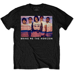 Bring Me The Horizon Men's Premium Tee: Photo Lines