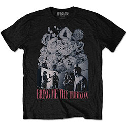 Bring Me The Horizon Men's Tee: Flowers