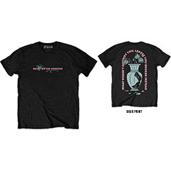 Bring Me The Horizon Men's Tee: What Doesn't Destroy (Back Print)
