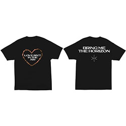 Bring Me The Horizon Unisex Tee: Love (Back Print)
