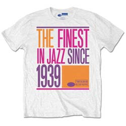 Blue Note Records Unisex Tee: Finest Jazz