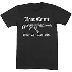 Body Count Unisex Tee: Enter The Dark Side