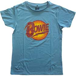 David Bowie Unisex Tee: Vintage Diamond Dogs