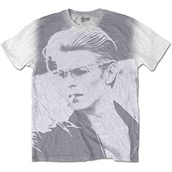 David Bowie Men's Tee: Wild Profile with Sublimation Printing