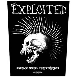The Exploited Back Patch: Beat the Bastards (Loose)