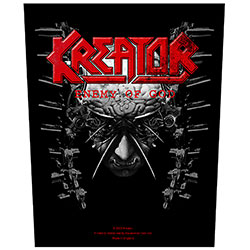 Kreator Back Patch: Enemy of God