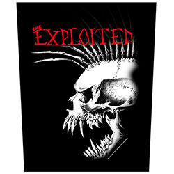 The Exploited Back Patch: Bastard Skull (Loose)