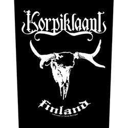 Korpiklaani Back Patch: Finland