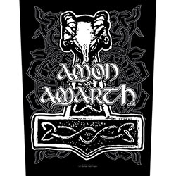 Amon Amarth Back Patch: Hammer