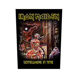Iron Maiden Back Patch: Somewhere In Time (Loose)