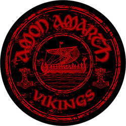 Amon Amarth Back Patch: Vikings Circular