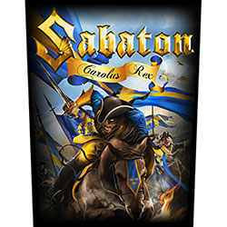 Sabaton Back Patch: Carolus Rex