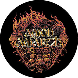 Amon Amarth Back Patch: Battlefield