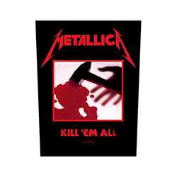 Metallica Back Patch: Kill 'em all