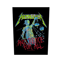 Metallica Back Patch: And Justice for All
