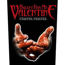 Bullet For My Valentine Back Patch: Temper Temper