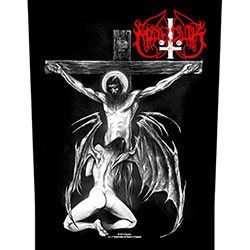 Marduk Back Patch: Christ Raping