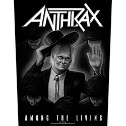 Anthrax Back Patch: Among the Living