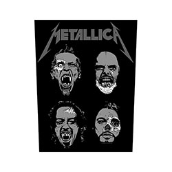 Metallica Back Patch: Undead