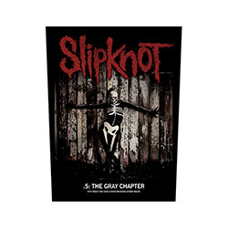 Slipknot Back Patch: .5: The Gray Chapter