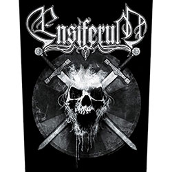 Ensiferum Back Patch: Skull