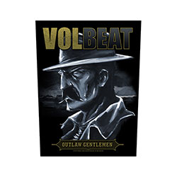 Volbeat Back Patch: Outlaw Gentlemen