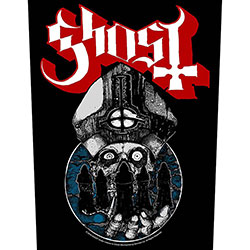 Ghost Back Patch: Papa Warriors
