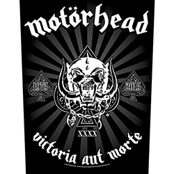 Motorhead Back Patch: Victoria aut Morte 1975 - 2015
