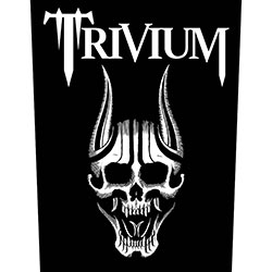 Trivium Back Patch: Screaming Skull
