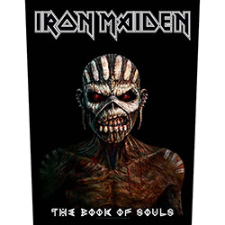 Iron Maiden Back Patch: The Book Of Souls