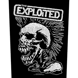 The Exploited Back Patch: Vintage Skull (Loose)
