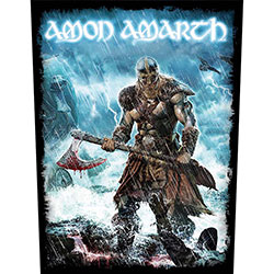 Amon Amarth Back Patch: Jomsviking