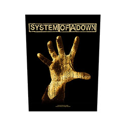 System Of A Down Back Patch: Hand