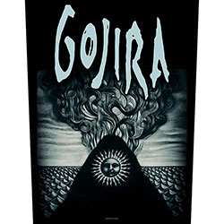 Gojira Back Patch: Magma