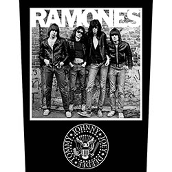 Ramones Back Patch: 1976
