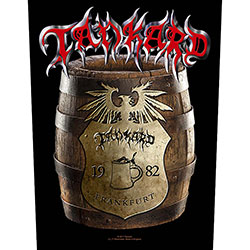 Tankard Back Patch: Beer Barrel (Loose)