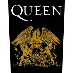 Queen Back Patch: Crest
