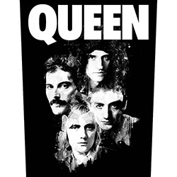Queen Back Patch: Faces