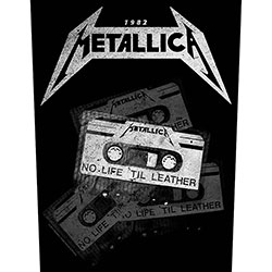 Metallica Back Patch: No Life 'Til Leather