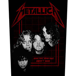 Metallica Back Patch: Bang That Head