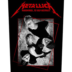 Metallica Back Patch: Hardwired Concrete