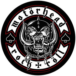 Motorhead Back Patch: Biker