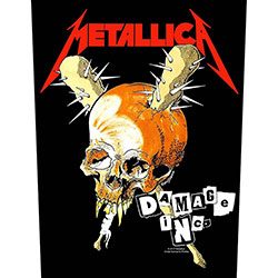 Metallica Back Patch: Damage Inc