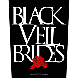 Black Veil Brides Back Patch: Rose