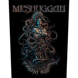 Meshuggah Back Patch: Violent Sleep of Reason