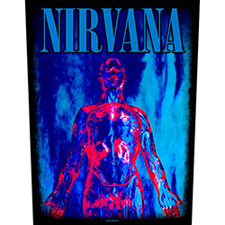 Nirvana Back Patch: Sliver